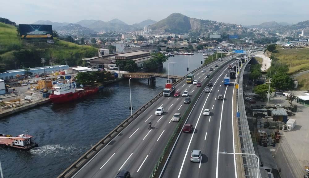 ILHA DA CONCEICAO - VISAO PONTE RIO NITEROI ANTES DO PEDAGIO